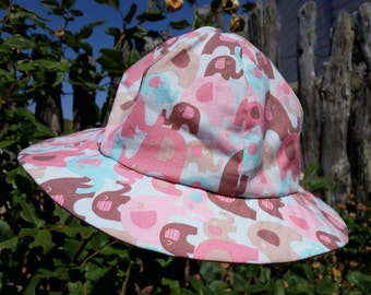 Pink Elephant Toddler Hat