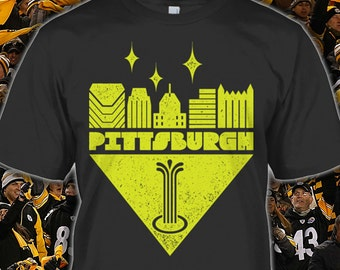 Steelers Tee - Pittsburgh Steelers Shirt for Fans - Pittsburgh Steelers Gift -  Pittsburgh Steelers Hoodie - Sizes Up to 5XL!