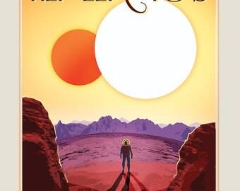 Poster / post NASA Kepler - 16B 50x70cm