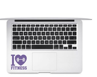 Fitness Decal, Exercise Decal, Gym Lover Decal, Fitness Tumbler Decal, Fitness Car Decal, Workout Decal, Women Workout Decal, Barbell Decal