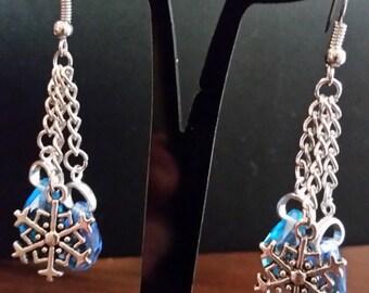 Winter Ball Dangle Earrings