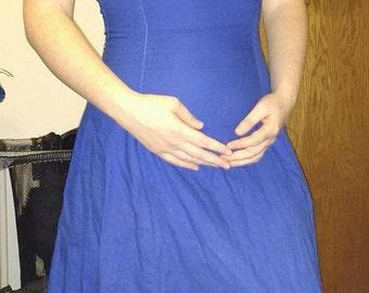 Corset Back Summer Gown