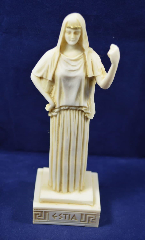 Hestia sculpture statue ancient Greek Goddess of the