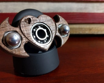 Handmade fidget spinners on the CNC (Multiple designs)