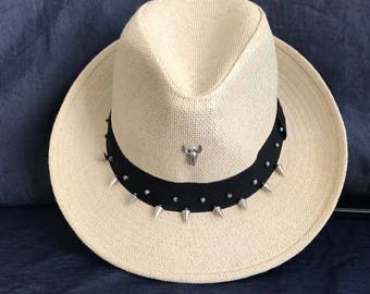 Festival straw Hat, Boho Hat, Summer Hat, Fedora hat, Straw Hat, Sun hat, Hat for women, Beach Hat, Gift Ideas, Cool hat, Panama Straw Hat
