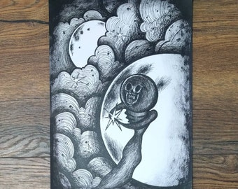 Horror #2 : A4 Art Print