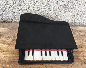Vintage Musical Instrument, Kids Piano, Kids Instrument, Wooden Piano, Piano Toy, Wooden Toy, Kids Gift.
