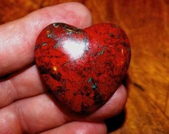 Sonoran Sunrise Heart Shaped Cabochon