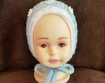Crochet Boys Baby Hat Bonnet