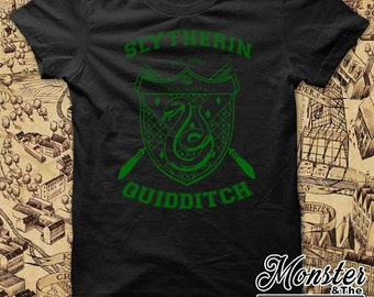 Slytherin House Quidditch Ringspun T-Shirt