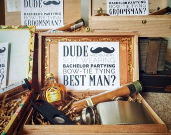 Will you be my Groomsman? Gift Boxes - Classic