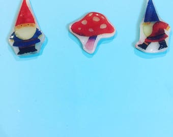 Mix & Match Series - Gnomes and Toadstools