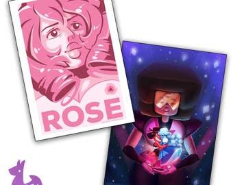 """5 x 7"""" Steven Universe Art Prints"""