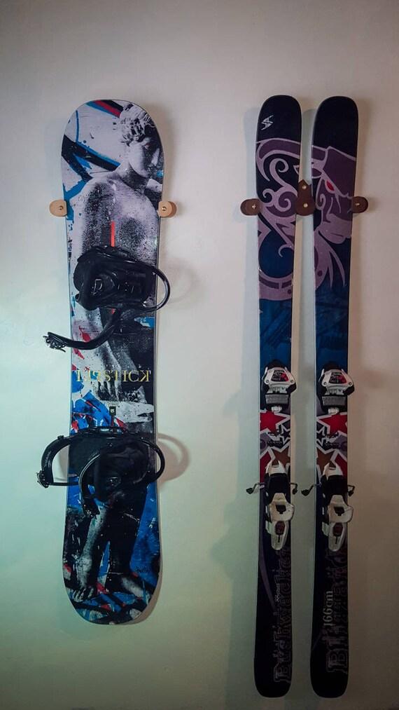 Ski and Snowboard Holder