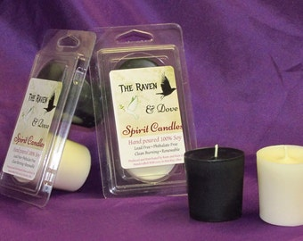 Raven and Dove 100% Soy Spirit Candles