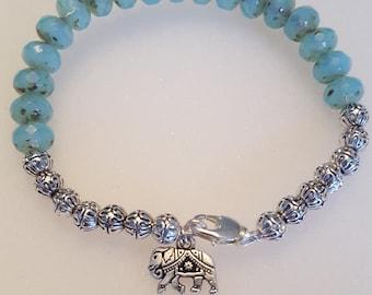 Beaded Elephant Bracelet