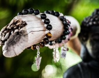 FOCUS | Aromatherapy Gemstone Diffuser Bracelet