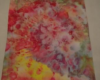 14 ct. Aida Hand Dyed Cross Stitch Fabric - Hippy Love