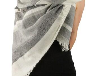 Mission San Carlos Yarn Dye Jacquard Blanket Scarf