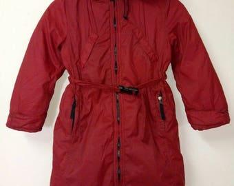 Jacket C.P Company rare vintage red colour size s
