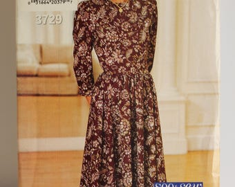 Butterick See & Sew 3729  Dress women's sizes 6-8-10