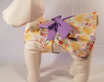 Dog Dress Easter Chicks & Eggs - Dog Clothes Pet Clothes