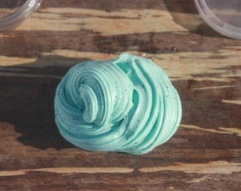 Mint Chocolate Chip Slime 4oz, 6oz, 8oz