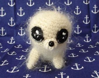 Fur seal/ Amigurumi Seal/ crochet seal/ handmade seal