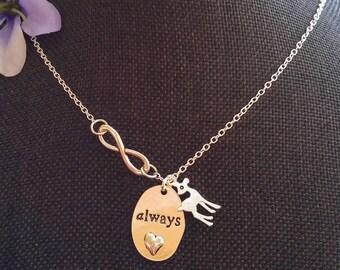 "Harry Potter Snape ""Always"" Necklace"