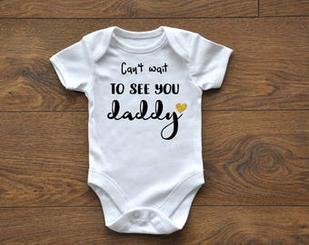 INTRO Sale, Pregnancy Announcement, Pregnancy Reveal, New Daddy, Daddy to be, New Baby, Custom, Customizable, Bodysuit, Onesie, Glitter