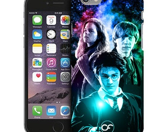 Ron, Hermione and Harry Potter Phone Case for iPhone Cases, iPod Touch Cases, and Samsung Galaxy Cases