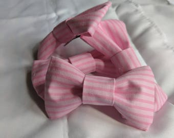 Cotton Pink Hair Bow