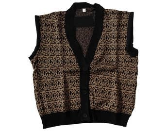 Ferris Bueller's Day Off Sweater Vest Costume Ferris Bueller Matthew Broderick 80s Movie Jumper Feriss Beuller Parade Cosplay Gift Quality
