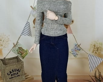 BJD 1/3 SD & Dollfie Dream Knit Top