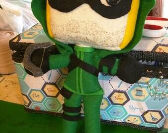 Green Arrow Plushie