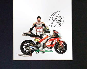 CAL CRUTCHLOW Mounted Signed Photo Reproduction Autograph Print A4 628