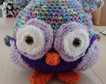 Hip the amigurumi OWL plush