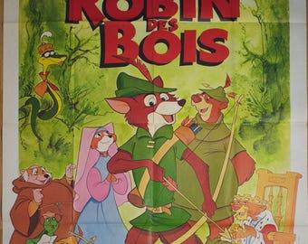 "Movie poster ""Robin des bois"" (Robib Hood) -Original-"