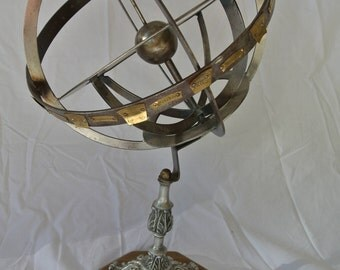 Vintage Globe Sun Dial