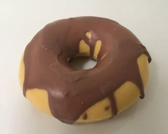 Hand-crafted Donut Soap - Vanilla and Chocolate Scent