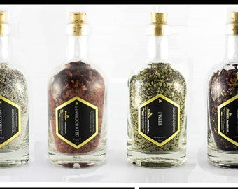 The Complete Set of Soaking Salts