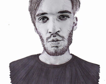 PewdiePie Realism Drawing