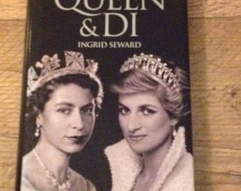 The Queen  and Di ,Princess Diana and The Queen of England, Princess Diana Book
