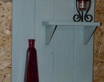 Handmade Wooden Shabby Chic Wall shelf