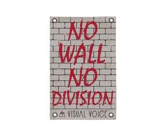 No Wall Canvas Sign