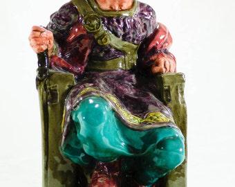 """Vintage Royal Doulton Figurine """"The Old King"""", HN2134"""
