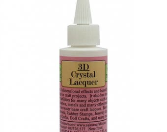 3D Crystal Lacquer lacquer adhesive ref. 28187-6