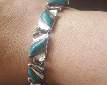Gorgeous Vintage Bracelet Sterling Silver 950