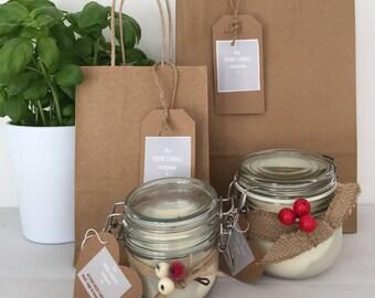 Kitchen Fresh Candle - Soy Wax - Basil, Sage & Tomato Leaf fragrance