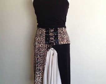 Agentine Tango skirt with lace up detail on back in small-med size